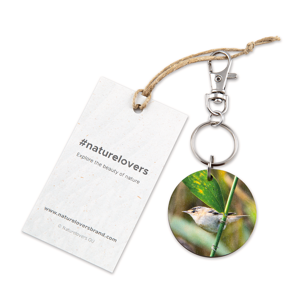 #acrocephalusschoenobaenus Keyring by #naturelovers brand - Photo Gifts & Wall Art for Nature Lovers