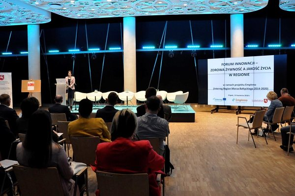 Innovation Forum Lubelskie – Healthy Food in Regional Quality of Life