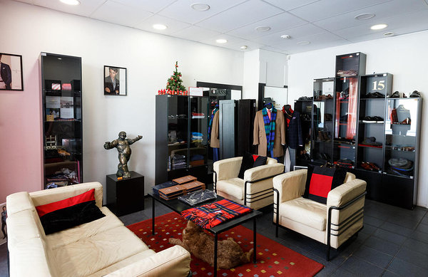 Classic Boutique indoors.