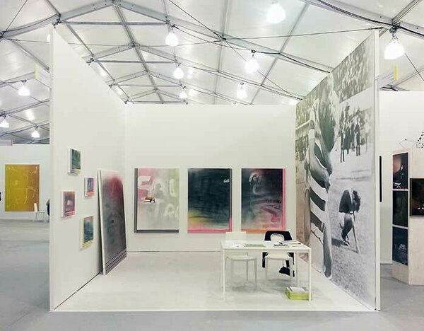 Installation view, UNTITLED Miami, 2013